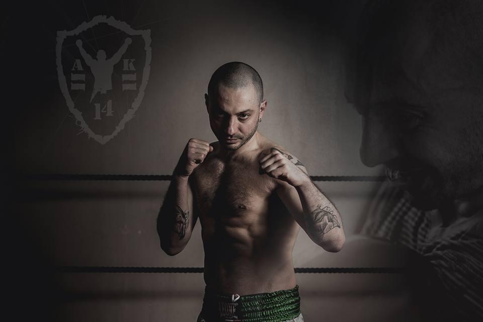 foto Mattia Tarini, istruttore di Muay Thai e K1